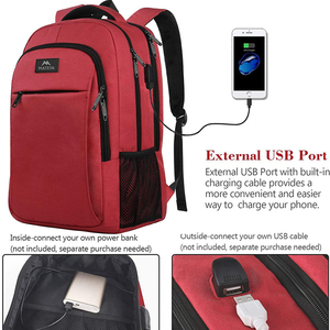 """Image 3 - Matein Brand USB Charging female Backpack Anti theft 15.6""""Laptop business Backpack Bag Women school bag Traveling Bags for girl"""