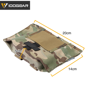 Image 5 - IDOGEAR Tactical First Aid Kit Pouch Medical Organizer Pouch MOLLE 9022B Medical Equipment 3548