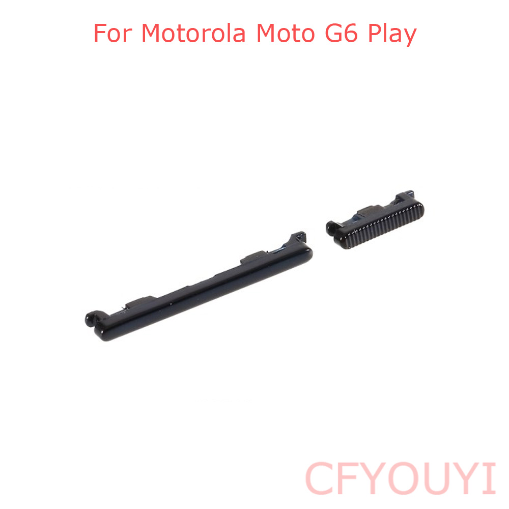 New For Motorola Moto G6 Play Side Key Power And Volume Buttons Set Replacement Part