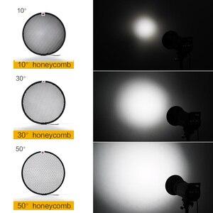 Image 2 - Standard Reflector Aluminum Honeycomb Grid 6.7 17cm 2/3/4/5/6/7mm for Bowens Standard Reflector Grid Photography Studio