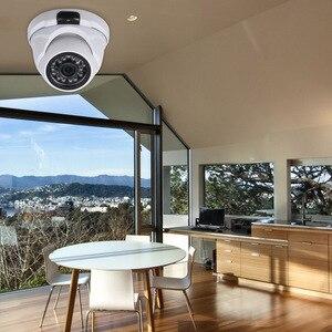 """Image 2 - Güvenlik kamerası 2.0MP 1.7mm Lens 1/1/2 """"CMOS renk AHD yüksek çözünürlüklü gece görüş kapalı Dome kamera Analog güvenlik kamera"""