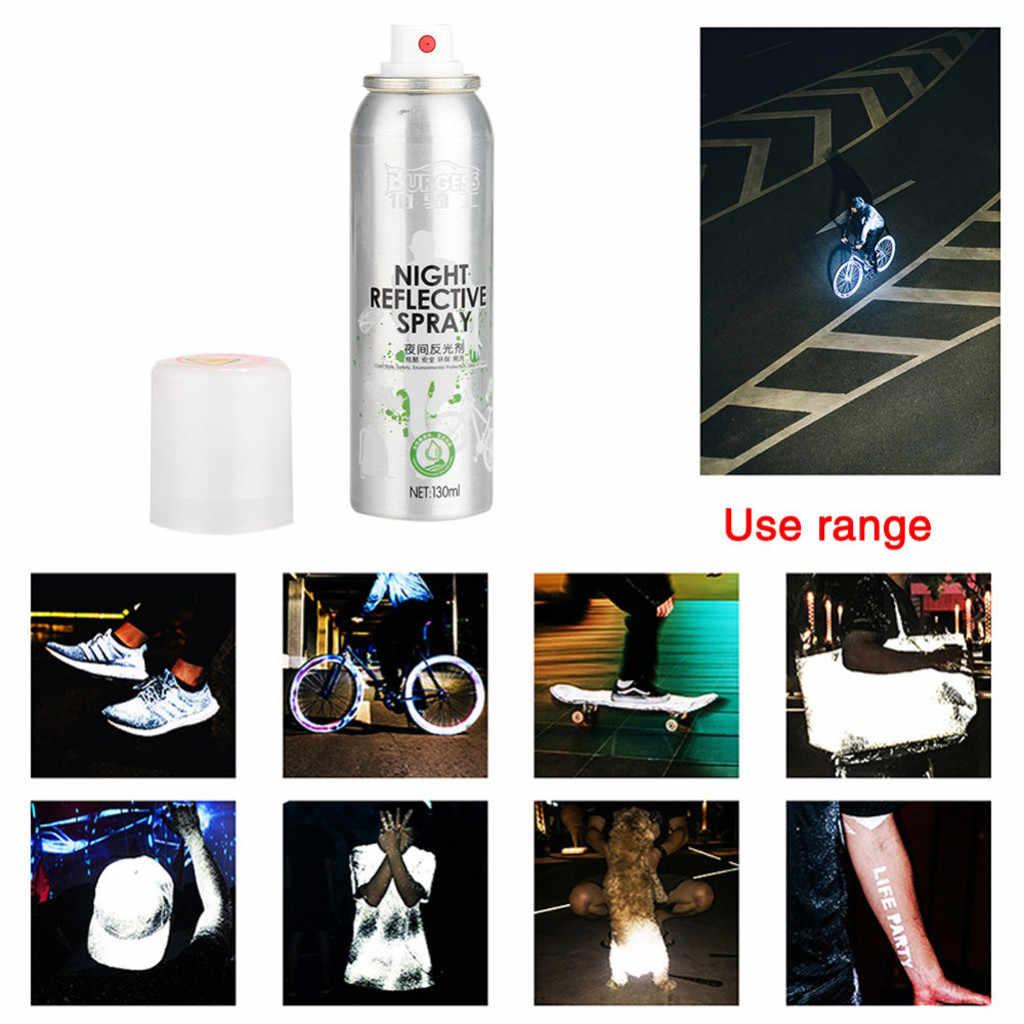 Meilleure vente 2019 produits nuit peinture en aérosol réfléchissante réfléchissant marque de sécurité Anti Accident équitation vélo livraison directe du fournisseur