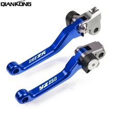 Dirt bike brakes Motorcycle Brake Clutch Levers Handle FOR Yamaha YZ250 2008 2009 2010 2011 2012 2013 2014 2008-2014 YZ 250 scott voltage yz 20 2014