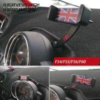 Telefone celular do carro suporte de montagem para mini cooper f54 f55 f56 f57 f60 montagem do telefone móvel suporte decoração do carro estilo acessórios