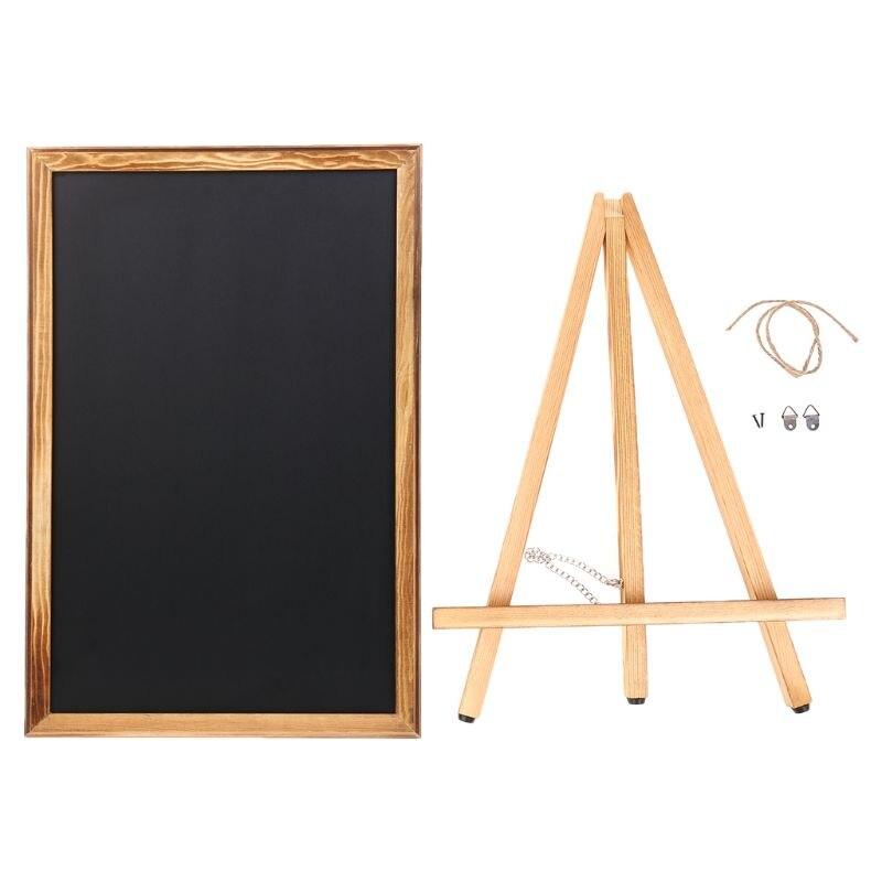 Desktop Memo Message Blackboard Easel Chalkboard Bracket Sketchpad Kids Writing M5TB