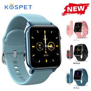 Image 1 - KOSPET GTO Smartwatch גברים 1.4 מסך גשש כושר קצב לב צג Ip68 עמיד למים Bluetooth ספורט חכם שעון נשים