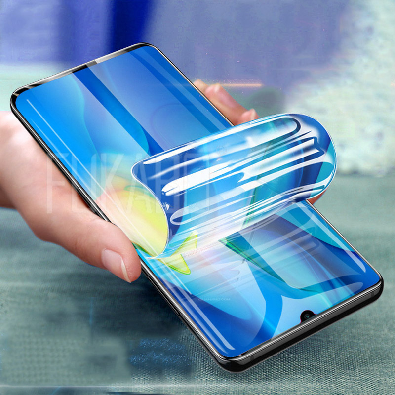 Screen Protector For <font><b>Redmi</b></font> K30 <font><b>8</b></font> 8A Film 6D <font><b>Hydrogel</b></font> Full Cover For Xiaomi Mi Mix 3 4 9 Lite CC9 Note 10 Pro Film (Not Glass) image