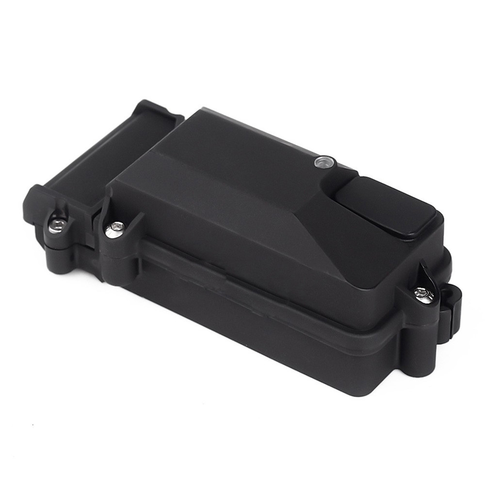 Rc caixa receptor de carro à prova ddiy água plástico caixa receptor rádio modificação diy para 1/10 scx10 d90 rc rastreador carro atualizar parte