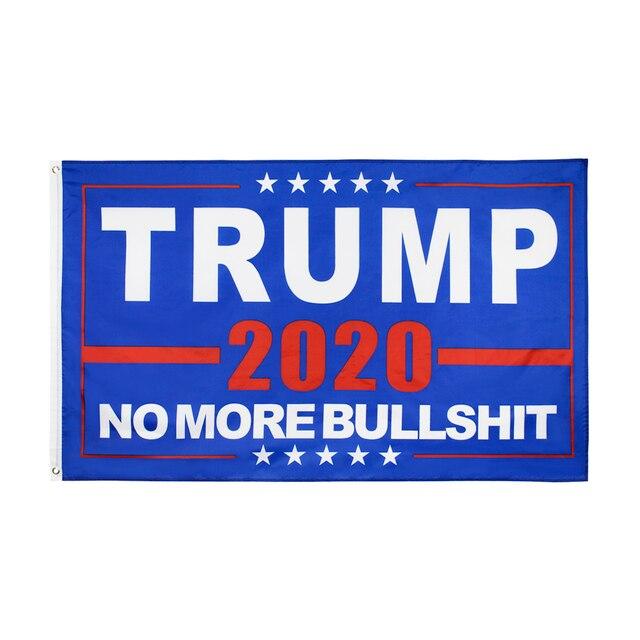 90*150cm nie więcej bzdury donald trump flaga dla 2020 roku prezydent stany zjednoczone