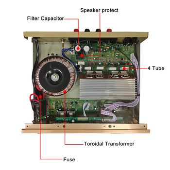 Усилитель мощности SUNBUCK 505AT, Bluetooth, FM-радио, AUX-вход, USB/SD-порт 4