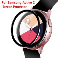 Samsung Galaxy Watch Active 2 pellicola salvaschermo 44mm impermeabile 3D copertura completa trasparente pellicola protettiva antigraffio accessori cheap CAOWTAN Di plastica CN (Origine) For active2 40mm 44mm SSB0112