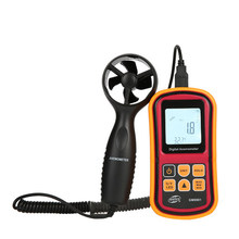 GM8901 digital anemometer with high precision wind speed wind temperature air volume tester digital anemometer wind speed air volume humidity measurement tester backlight display support usb real time