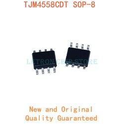 10 шт. TJM4558CDT SOP8 C4558 SOP-8 TJM4558C SOP TJM4558 SOIC8 SOIC-8 SMD новый и оригинальный IC