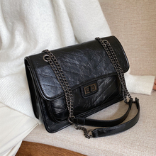Burminsa Chic Design Quilted Chain Messenger Bags For Women Ladies Large Capacit
