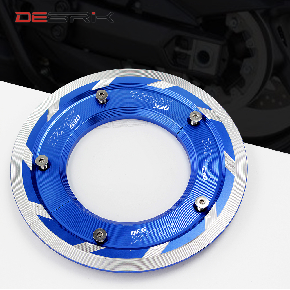 New Product Tmax DX SX Motorcycle accessories Transmission Belt Pulley Cover For Yamaha Tmax <font><b>T</b></font>-<font><b>MAX</b></font> <font><b>530</b></font> DX SX <font><b>2017</b></font> 2018 image