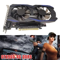 2020 GTX960 4G DDR5 128bit Desktop Graphics Card HDMI DVI VGA Output Card Hand Tool Parts