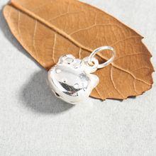 Аутентичные 925 стерлингового серебра кошка hellokitty Кулоны