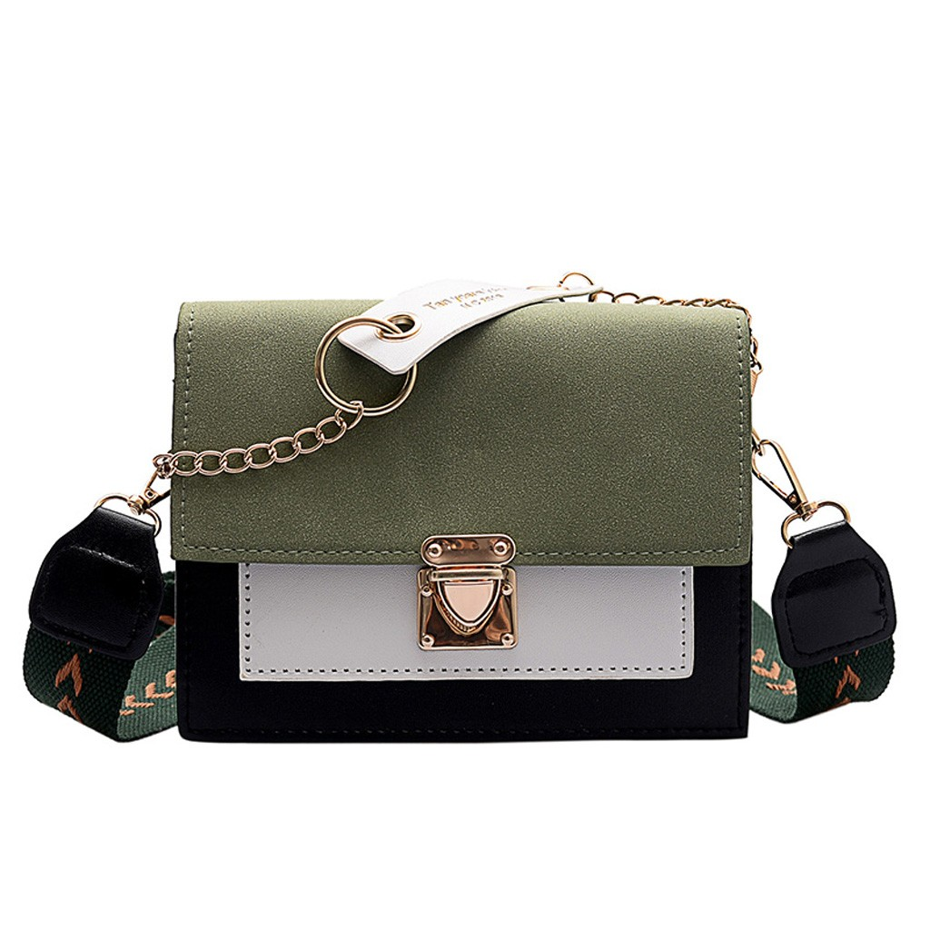 Crossbody-Bags Purses Handbags Square Bag Shoulder-Messenger-Bag Small Mini Women Lady title=