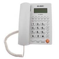 Стационарный телефон Проводной Домашний офис Настольный телефон с подсветкой дисплей звонящего ID