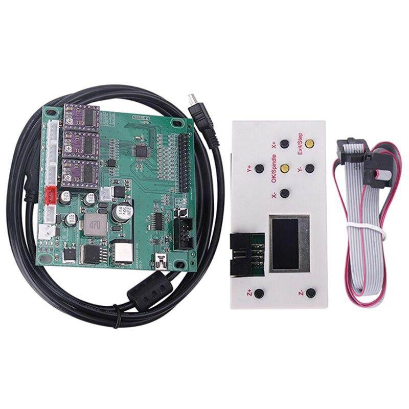 New GRBL 1.1 USB Port CNC Engraving Machine Control Board, 3 Axis Control,Engraving Machine Board With Offline Controller
