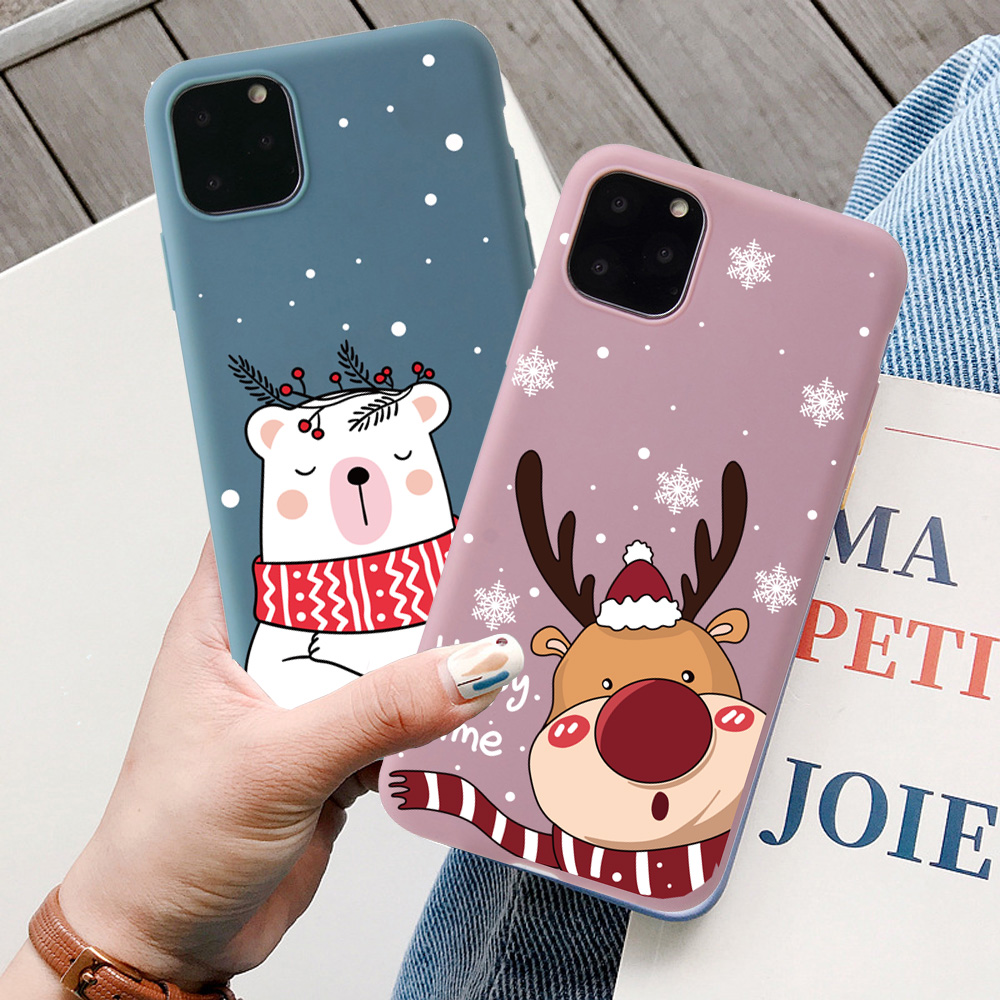 Christmas New Year Santa Claus Case For iPhone 12