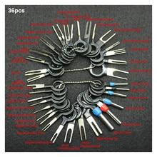 36 шт. электрическая скрученная веревка набор ручных инструментов для автомобиля заглушка инструмент для удаления наконечников штифт иглы Ретрактор выбор