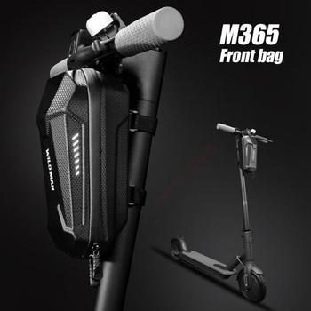Bolsa frontal para patinete eléctrico, para Xiaomi Mijia M365, Segway Ninebot ES2 para guardar accesorios, herramientas y cargador, bolsa de almacenamiento para colgar