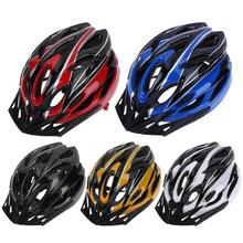 Helmet Road-Bicycle Mountain-Bike Cycling Safety Ultra-Light Racing New MTB 18-Hole