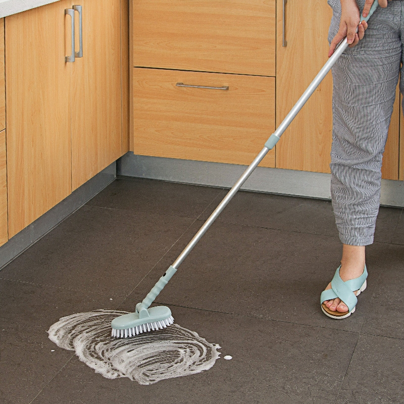 Congis-1PC-Stretchable-Aluminum-Pole-Tiles-Brush-Corner-Floor-Bathroom-Long-Handle-Mop-Free-Rotation-Bathroom (2)