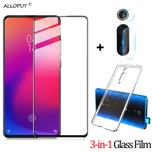 купить 3-in-1 Tempered Glass Mi9 se Mi9t Xiaomi Mi 9 SE 9T Camera Protective Glass Film Xiaomi Mi 9T 9SE Screen Protecror mi9 se Glass дешево