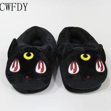 Зимняя плюшевая обувь в стиле аниме «Сейлор Мун»; Мягкая мягкая