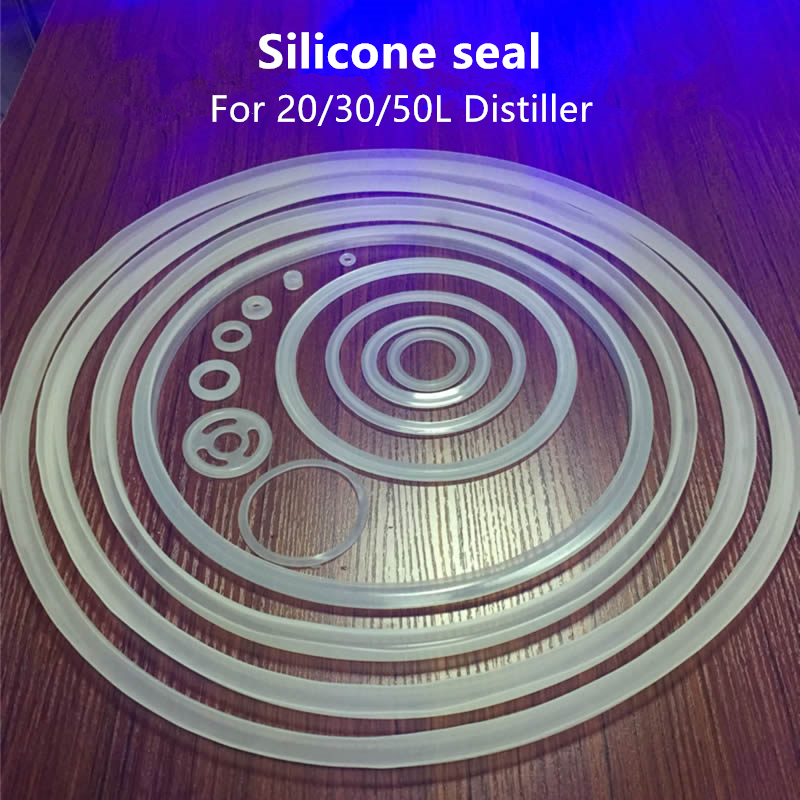 Silicone Seal For 20/30/50L DIY Home Distiller Moonshine Alcohol Stainless Copper Water Wine Brewing Distiller|Distillers|   - AliExpress