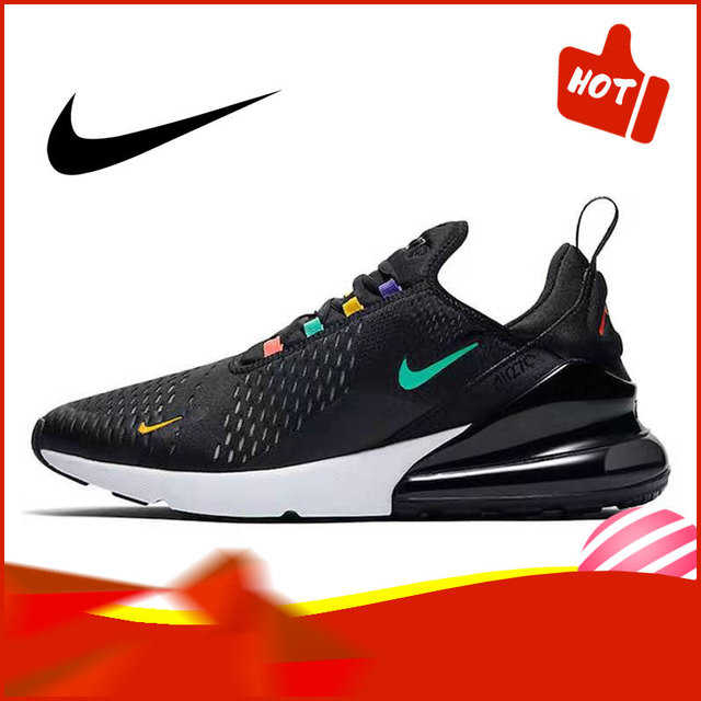 Authentic Original NIKE AIR MAX 270 Men's Running Shoes Trend Fashion Outdoor Sports Classic Breathable 2019 New AH8050-006