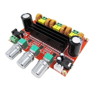 Image 2 - Placa amplificadora de áudio digital, 80 w * 2 + 100 w 2.1 channel digital subwoofer tpa3116d2 com ne5532 DC12 24V stereo amp amp amp