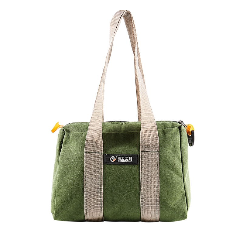 GTBL PENGGONG 12 Inch Waterproof Canvas Storage Bag Tool Portable Toolkit Hardware Parts Storage Bags Organizer Pouch Bag Case