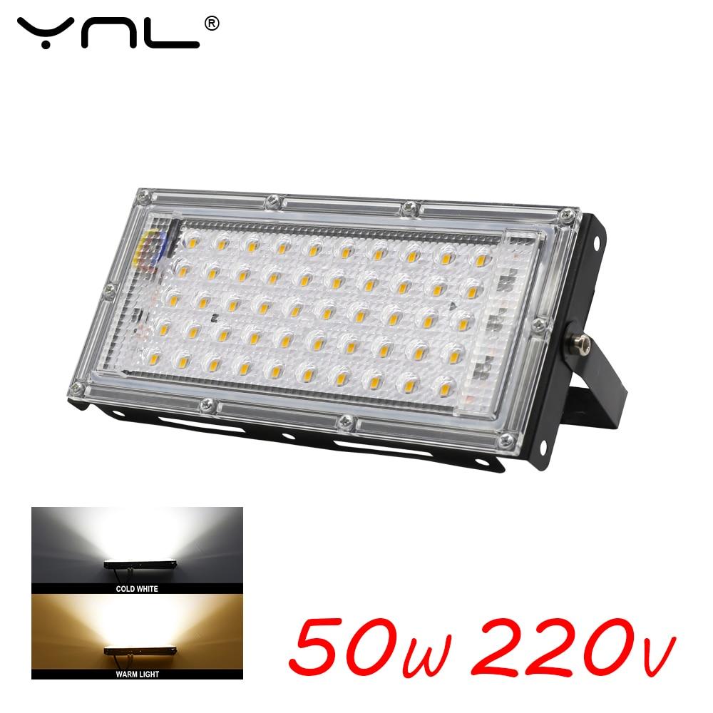50W Led Flood Light Outdoor Lighting AC 220V 240V Waterproof IP65 Floodlight Spotlight Reflector Led Projector Street Lamp