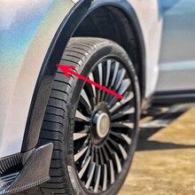 4pcs/set Carbon Fiber Side Wheel Arch Fender Guard Protector Flares for Levante SUV 2017 UP цена в Москве и Питере