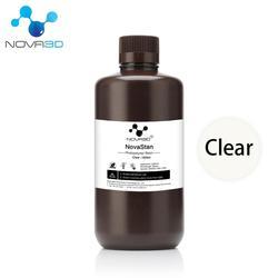NOVA3D 405nm โปร่งใสสีเรซิน UV SLA เครื่องพิมพ์ 3D เครื่องพิมพ์วัสดุการพิมพ์ LCD DLP UV Sensitive Liquid photopolymer