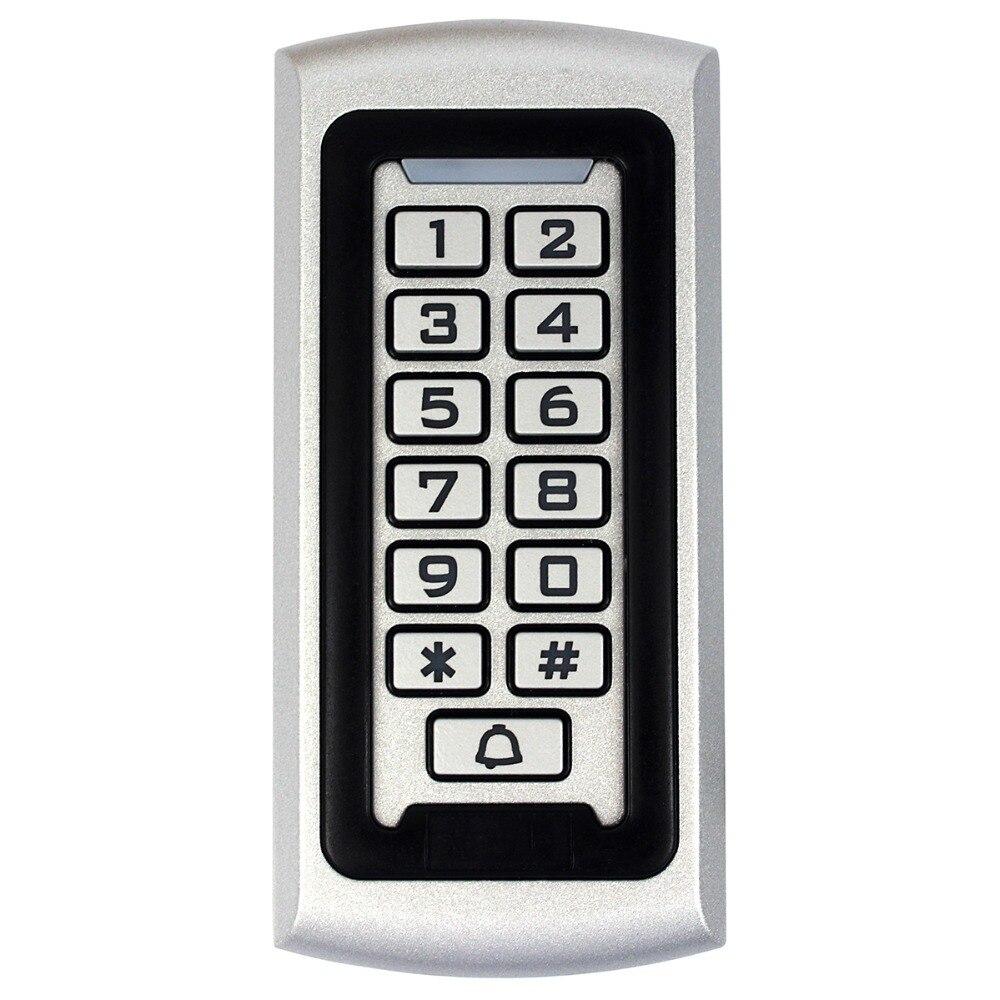 Rfid Клавиатура контроля доступа 125 кГц EM ID близость входной двери замок система контроля доступа антивандальный водонепроницаемый металлич