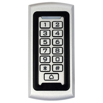 Rfid Keypad Access Control 125Khz EM ID Proximity Entry Door Lock Access Control System Anti-vandal Waterproof Metal Case F1212D access control card reader rfid 1000 users security proximity entry system door lock quality electronic entry door lock winte