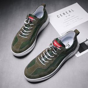 Image 4 - Hommes chaussures décontractées confortable mode vulcaniser chaussures automne respirant baskets hommes loisirs de plein air chaussures Zapatillas Hombre