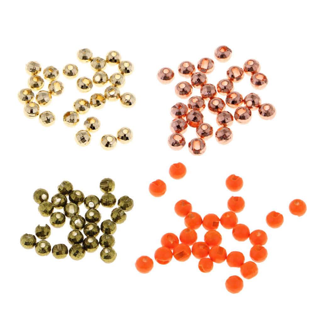 25pcs Tungsten Fly Tying Beads Nymph Head Beads Jigs Fly Tying Materials DIY Fishing Accessories for Tying Nymphs Streamers|Fishing Lures|Sports & Entertainment - title=