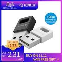 ORICO USB Bluetooth 4.0 adaptateur de Dongle pour ordinateur sans fil souris Joystick Bluetooth musique Audio récepteur émetteur