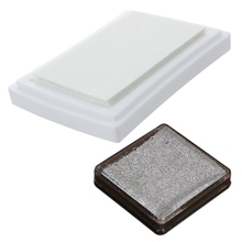 2 Pcs Stamp Rubber Stamp Stamp Pad Ink Pad Stamp Pad, 7.2 X 5.2 X 2.1 cm & 4 X 4cm