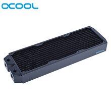 Alphacool radiateur de refroidissement pour ordinateur, en cuivre complet, 120MM,240MM, 360MM,480MM 45mm épais, XT45