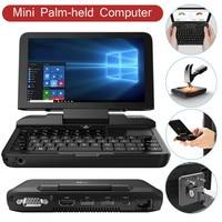 Mini Handheld Game Console GPD Micro 6inch Windows 10 Pro 8GB RAM 128GB ROM Mini laptop pocket Notebook TV Video Consoles
