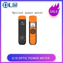 الطاقة البصرية متر G10 جديدة عالية الدقة بطارية قابلة للشحن الألياف البصرية السلطة متر مع ضوء فلاش OPM