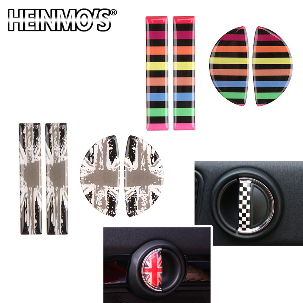 JCW Interior Front Reading Light Lamp Panel Cover Cap ABS for Mini Cooper F54 Clubman F55 Hardtop F56 Hatchback F57 Covertible F60 Countryman
