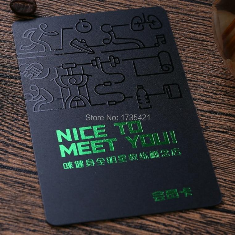 Custom High Quality Plastic VIP Membership Card With Gold Silver Foil UV