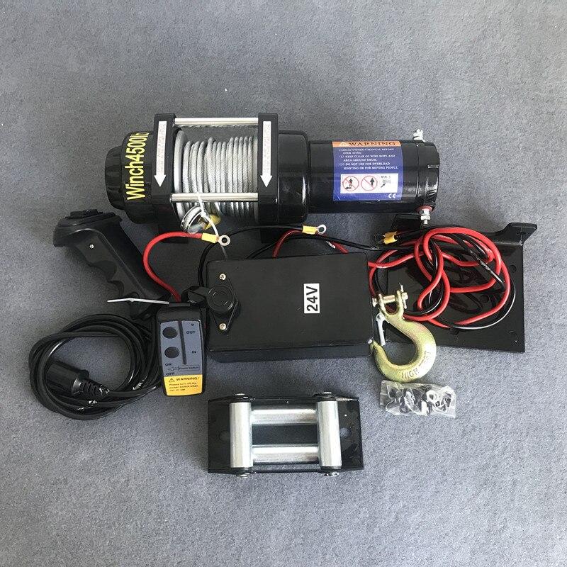 Elektrikli vinç 12v araba vinç 2000/3000/4000/4500/6000/9500/12000lb kolu /kablosuz tel halat ATV vinçleri plaj arabası